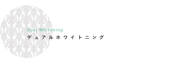 デュアルホワイトニング